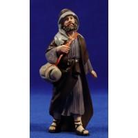 Pastor de camino 11 cm resina