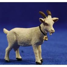 Cabra blanca 12 cm resina