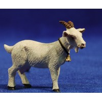 Cabra blanca 10 cm resina