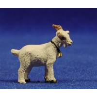 Cabra blanca 6 cm resina