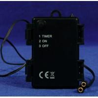 Adaptador pilas temporizado 8 cm plástico