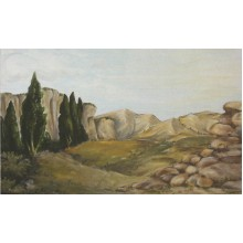 Fondo piedras 100x70 cm papel