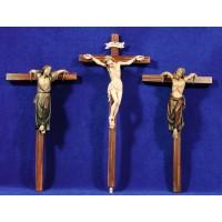 Cruces crucificción 14 cm madera
