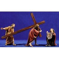 Camino de la cruz - Verònica 14 cm madera