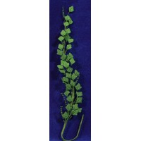 Enredadera viña verde oscuro 21 cm plastico