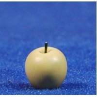 Manzana amarilla 1 cm resina