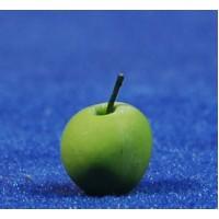 Manzana verde 1 cm resina