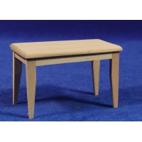 Mesa sola 6 cm madera