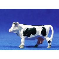 Vaca 5 cm plástico