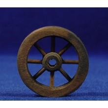 Rueda 3,5 cm madera