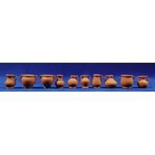 Jarra variada 2,5 cm barro