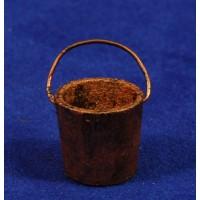 Cubo cobre 2 cm madera