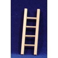 Escalera 8 cm madera