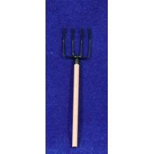 Horca 10 cm madera y metal