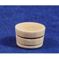 Barreño diámetro 1,8 cm madera