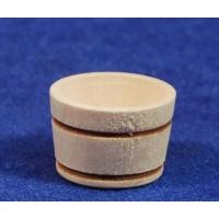 Barreño diámetro 2,5 cm madera