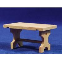 Mesa sola 4,5 cm madera