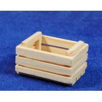 Caja para frutas o verduras 3,5 cm madera