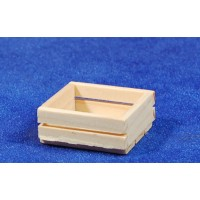 Caja para frutas o verduras 3 cm madera