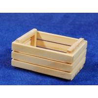 Caja para frutas o verduras 5 cm madera