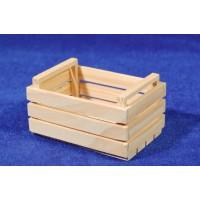 Caja para frutas o verduras 7,5 cm madera