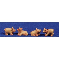 Cerdo M2 7 cm resina belénes Puig