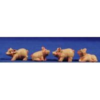Cerdo M2 8 cm resina belénes Puig