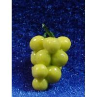 Uva blanca con tallo 1,2 cm resina