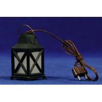 Farola led luz blanca 4,5 cm metal