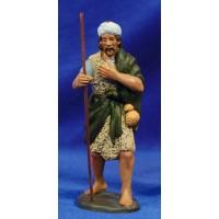 Pastor con calabaza 12 cm barro pintado Artdemirs