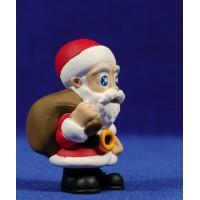 Papa Noel 6 cm plástico Comansi