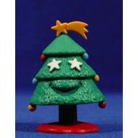 Arbol de Navidad 6 cm plástico Comansi