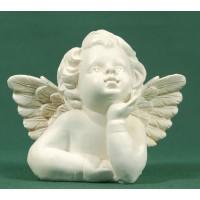 Busto de ángel sobremesa 9,5 cm resina