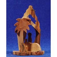 Nacimiento decoración colgar 7 cm madera