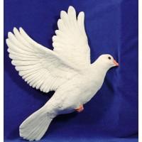 Paloma volando 160 cm resina