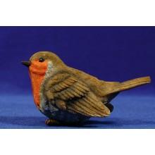 Pájaro petirrojo europeo 180 cm resina