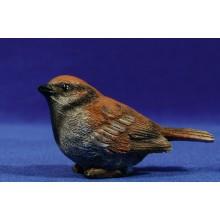 Pájaro gorrión 120 cm resina