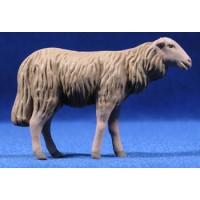 Corderos 16 cm barro pintado