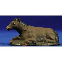 Mula 7 cm barro pintado Figuralia